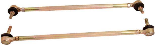 Tie Rods - 340mm, 2pc Set