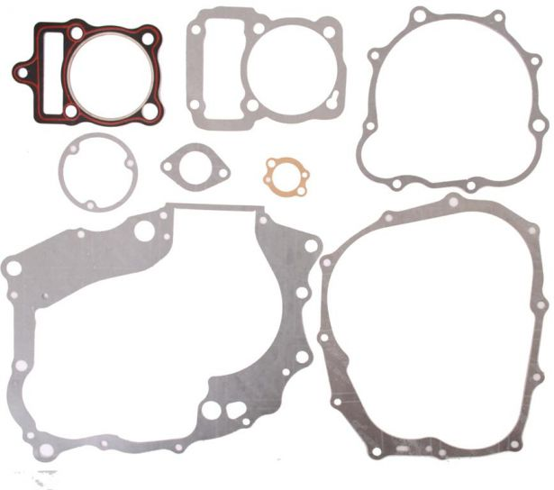 Gasket Set - 8pc, 250cc, CG250 Top and Bottom End