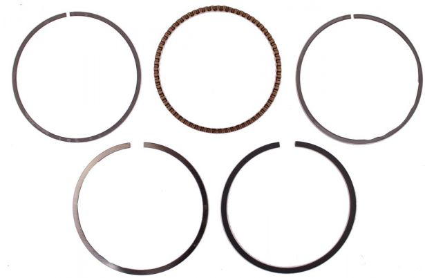 Piston Rings - 250cc, 67mm (5pcs)