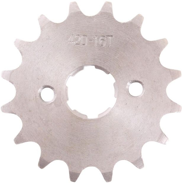 Sprocket - Front, 16 Tooth, 420 Chain, 20mm Hole