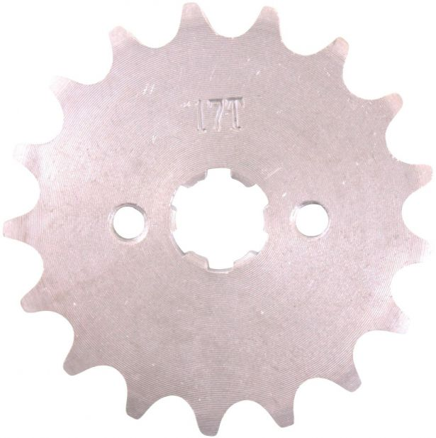 Sprocket - Front, 17 Tooth, 420 Chain, 17mm Hole