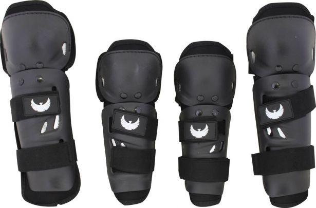 PHX TuffPads - Elbow and Knee Pads (4pcs)
