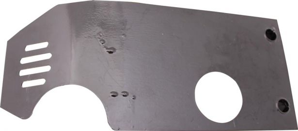 Crash Plate - Skid Plate Steel 50cc to 140cc Dirt Bike Symmetrical