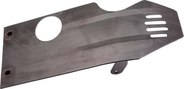 Crash Plate - Skid Plate Aluminum 50cc to 140cc Dirt Bike Asymmetrical