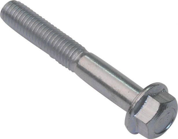 Flange Bolt, Hexagon Head, 8-55 (2pcs) 8mm Diameter, 55mm Length
