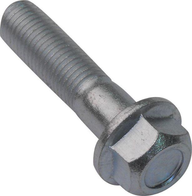 Flange Bolt, Hexagon Head, 10-30 (2pcs) 10mm Diameter, 30mm Length