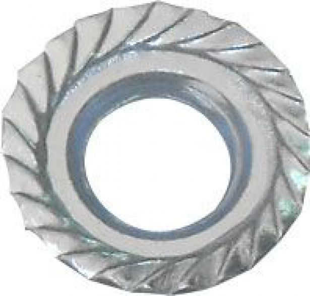 Flange Nut, M6 (4pcs)