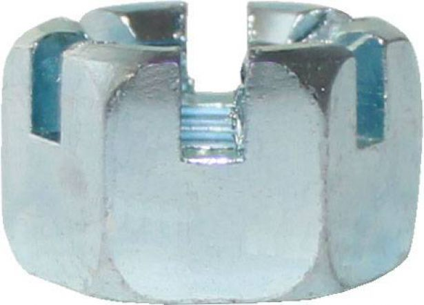Slotted Nut - Castle Nut - ( Wheel Nut, Lug Nut ) 14-1.5 (4pcs)
