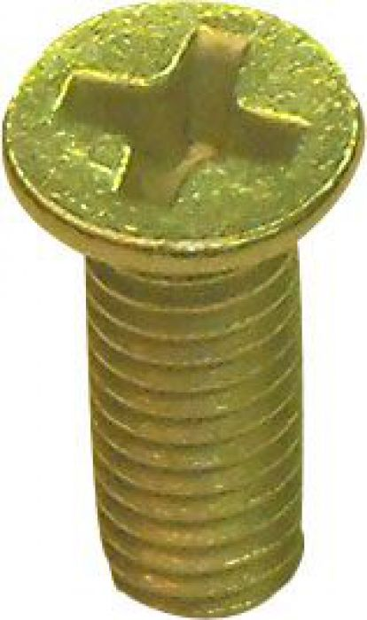 Countersunk Head Bolt, Phillips, 6-12 (4pcs)