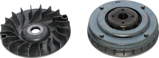 Clutch - Variator, 300cc, 2x4, 4x4 and 4x4 IRS, 18 Spline