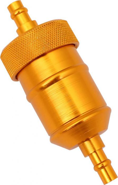 Fuel Filter - Aluminum, CNC, Gold