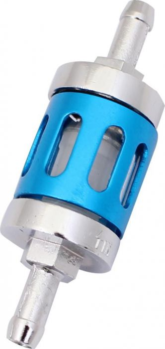 Fuel Filter - Posh Racing, Silver/Blue