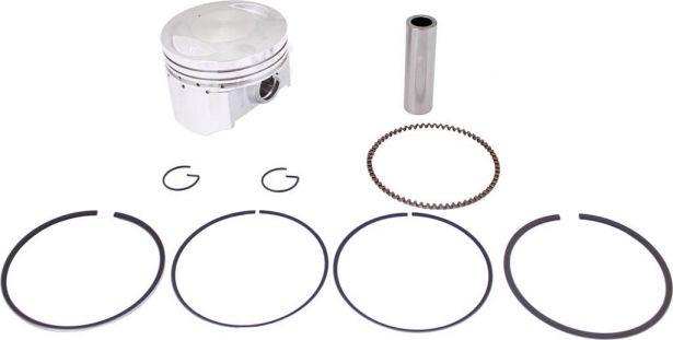 Piston and Ring Set - 250cc, 67mm, 16mm (9pcs)