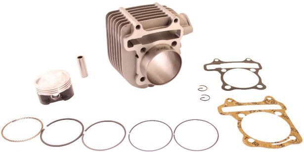 Cylinder Block Assembly - Big Bore, GY6, Performance, 61mm