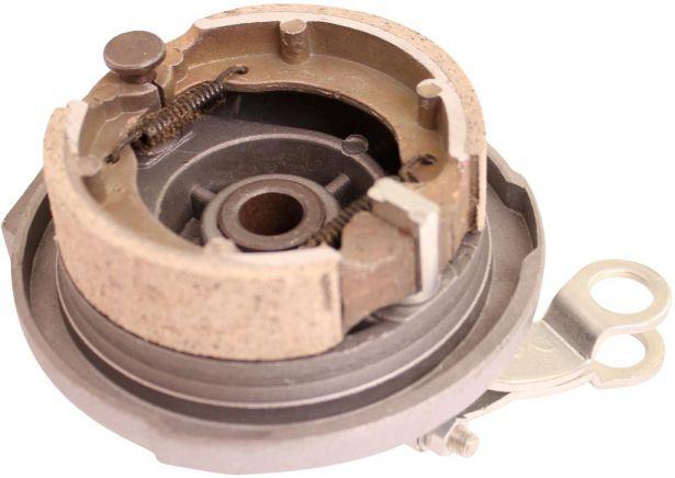 Brake Hub - Drum Brake Backing Plate & Brake Shoes