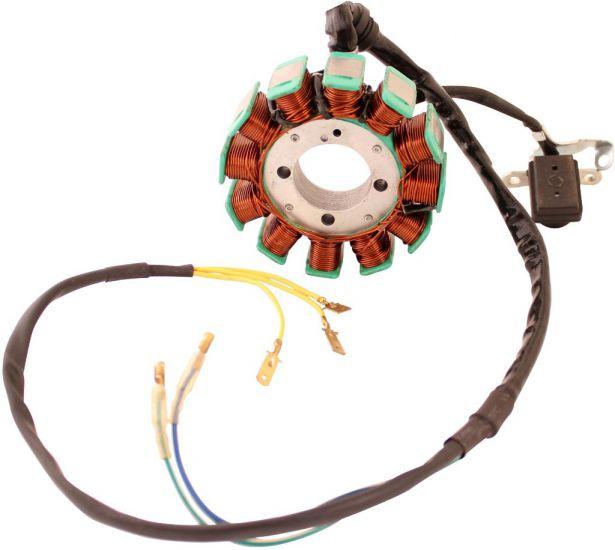 Stator - Magneto Coil, CG12, 5 Wire