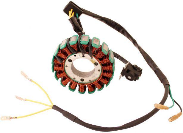 Stator - Magneto Coil, GS18, 5 Wire