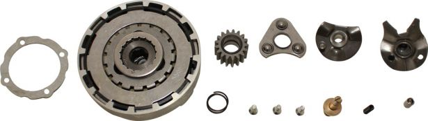 Clutch Kit - 50cc to 140cc (Triangular teeth)