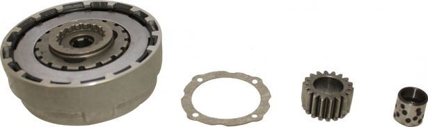 Clutch Kit- 50cc to 140cc (Square/Rectangular teeth)