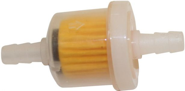 Fuel Filter - Plastic, 49cc to 250cc