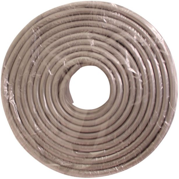 Fuel Line - 20m Roll, Grey,Tubing for Carburetors,  Premium Grade