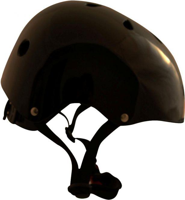 Kids PHX Multi-Sport Helmet - Pure, Gloss Black, M