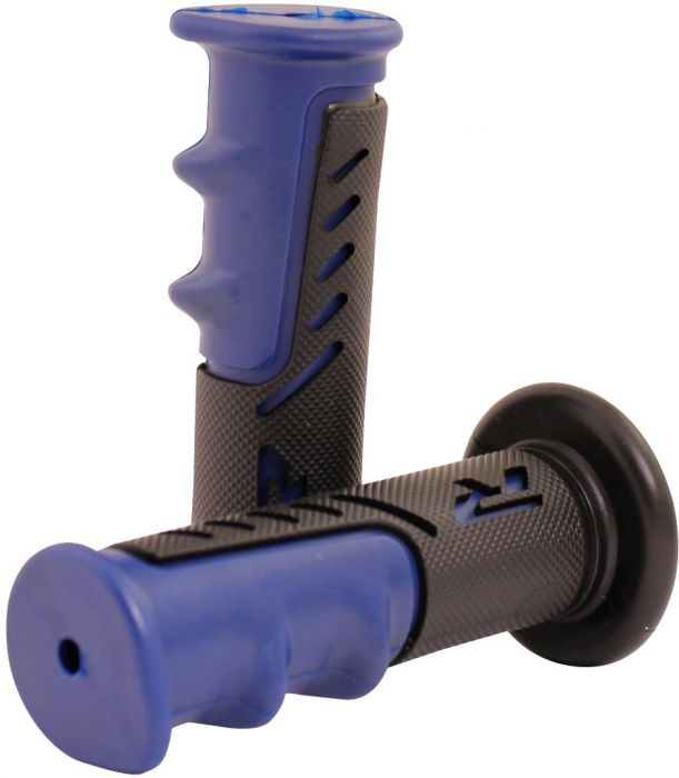 Throttle Grips - R Series, Blue