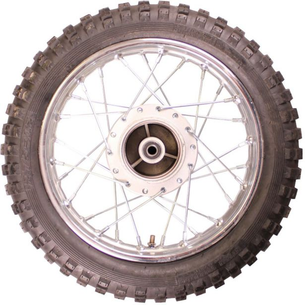 Rim and Tire Set - Rear 12
