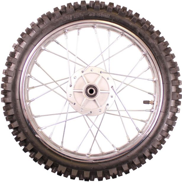 Rim and Tire Set - Front 14