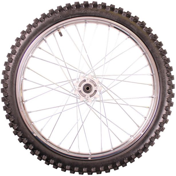 Rim and Tire Set - Front 21