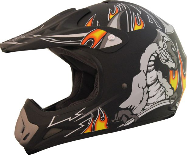 PHX Vortex - Nightmare, Flat Black, XL