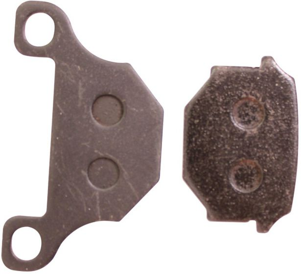 Brake Pads - 125cc to 500cc, ATV (500cc Gio Rock Liner Rear Brake Pads)