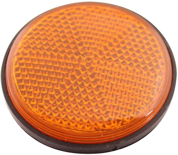 Reflector - Orange with Black Base (2pcs)