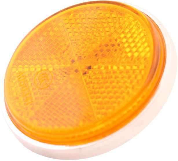 Reflector - Orange with Chrome Base, A-Grade
