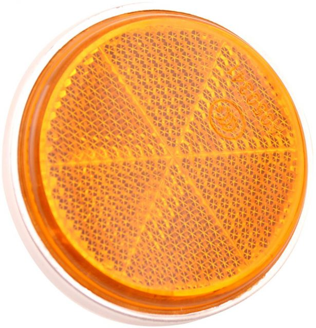 Reflector - Orange with Chrome Base, A-Grade