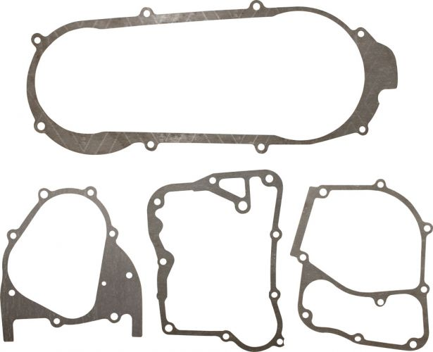 Gasket Set - 4pc, 150cc, GY6, Bottom End