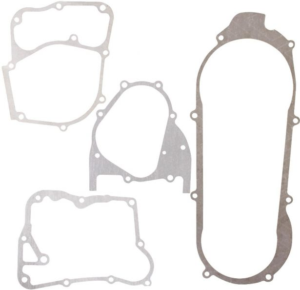 Gasket Set - 4pcs, 125cc, 150cc, GY6, Bottom End