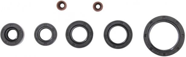 Oil Seal Kit - 50cc to 90cc, 7pcs