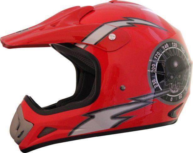 PHX Vortex - Overclock, Gloss Red,M