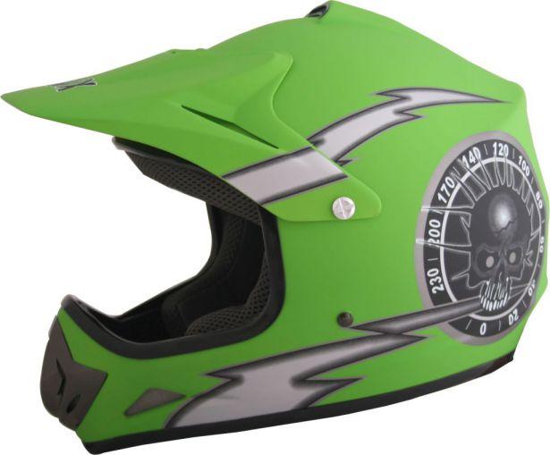 PHX Zone 3 - Overclock, Gloss Green, XL