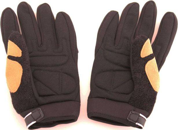 PHX Gloves Motocross, Kids (Black, Large)