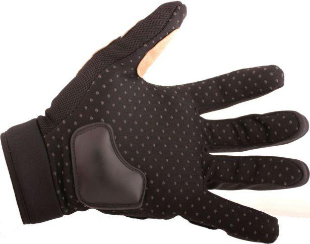PHX Gloves Motocross, Adult MCS Race Edition (Black, X-Large)