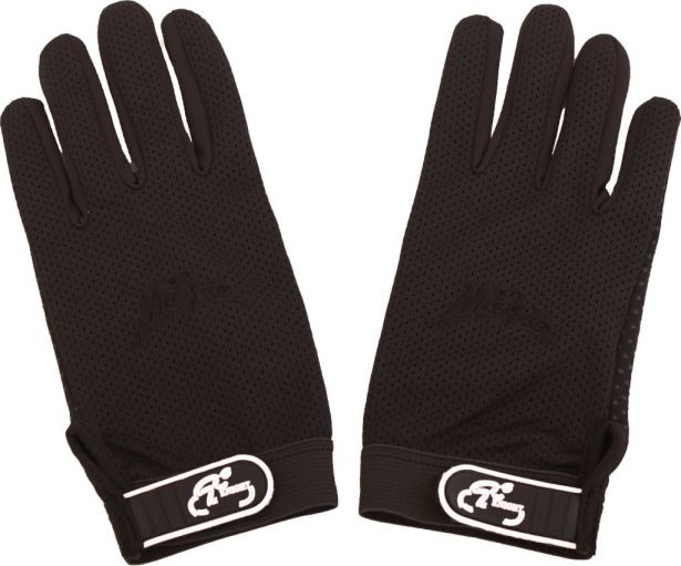 PHX Knight, Easy-Ride Gloves - Adult (Black, X-Large)