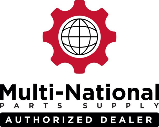 Multi-National Parts Supply Authorized Dealer Window Sticker