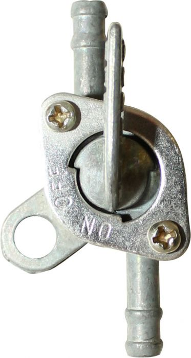 Petcock - Fuel Valve, Gas Valve, In-line with Attachment Hook