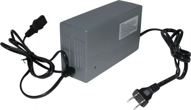 Charger - 48V, 2A, C13 Plug, Reverse Polarity