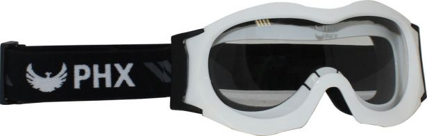 PHX GPro Kids & Youth Goggles - Gloss White