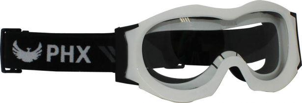 PHX GPro Kids & Youth Goggles - Gloss White