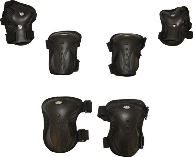PHX TuffPads Plus - Elbow, Knee and hand Protectors (6pcs)