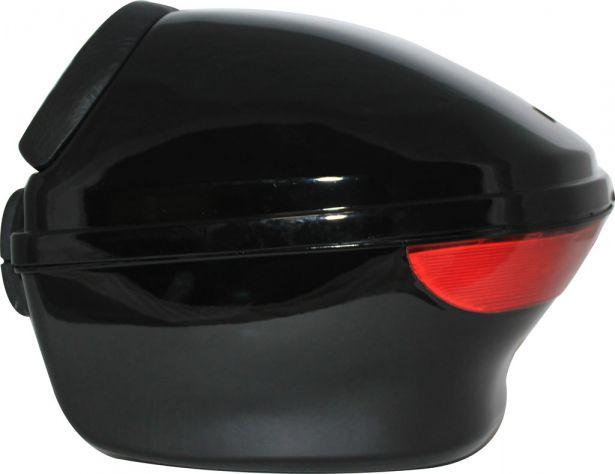 Tail Storage Box - PHX Scooter Standard, Gloss Black